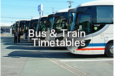 Bus and Train Timetables