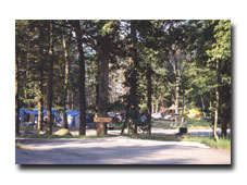 A complete view of the campground